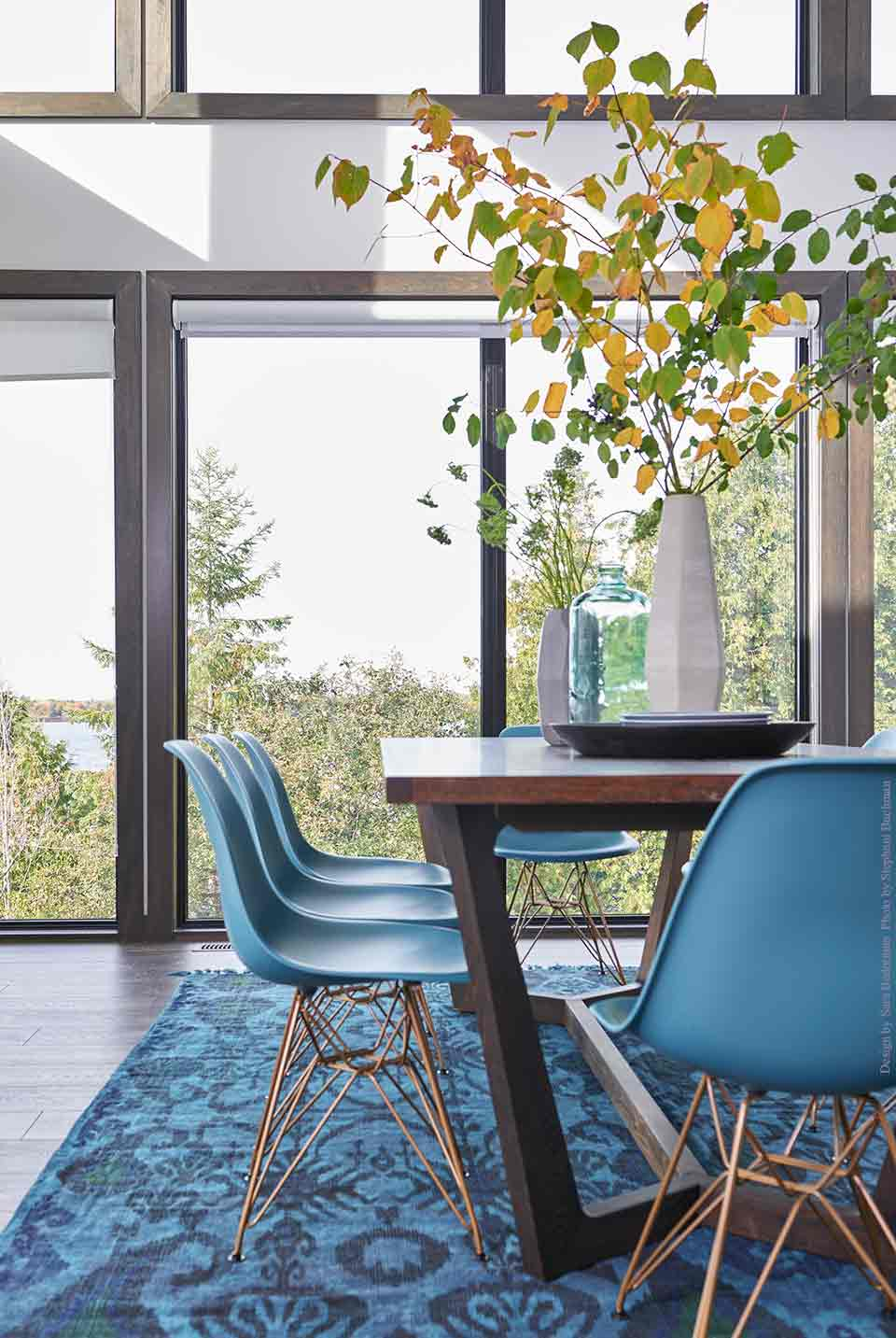 Blue Dining Room | Lake House Decor